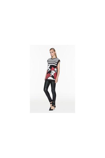 Camiseta TWIN-SET Maxi Mickey
