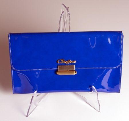 Clutch CARMEN STEFFENS azul