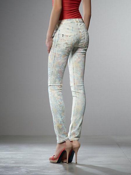 Jeans PATRIZIA PEPE estampado flores