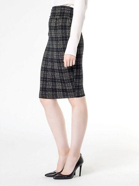 Falda PATRIZIA PEPE Black-white