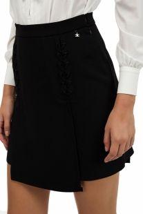 Minifalda ELISABETTA FRANCHI detalles trenzados