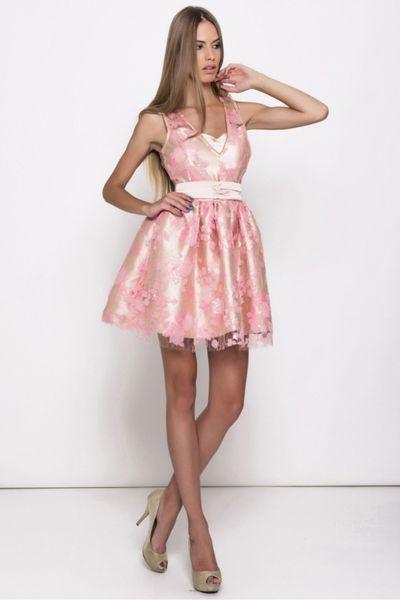 Vestido EL ARMARIO DE LULÚ rosa pavillón