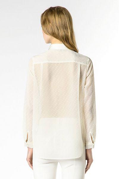 Camisa PATRIZIA PEPE Seda blanca