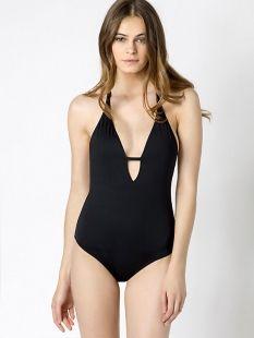 Bañador negro PATRIZIA PEPE