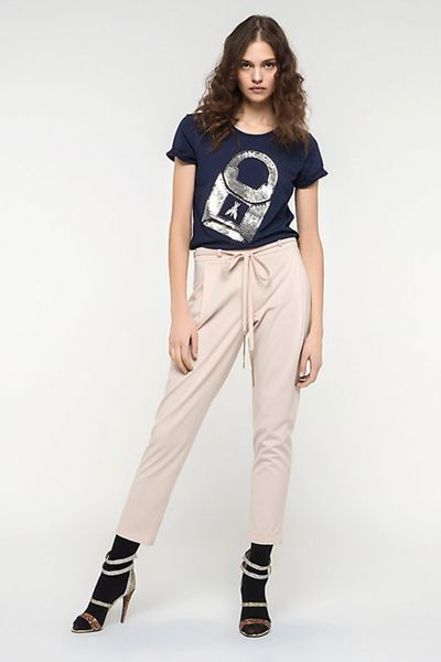 Pantalones PATRIZIA PEPE rosa