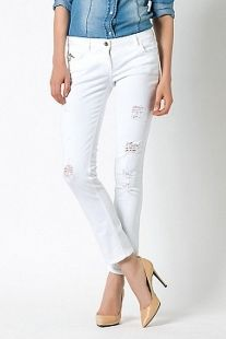 Pantalon PATRIZIA PEPE blancos