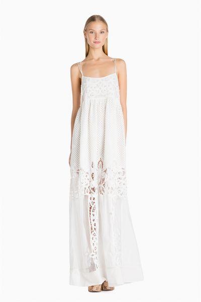 Vestido Largo TWIN-SET con Bordados