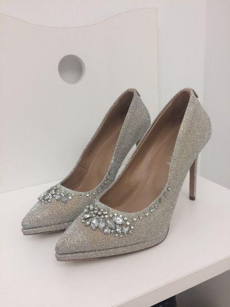 Zapato TWINSET PLATINO