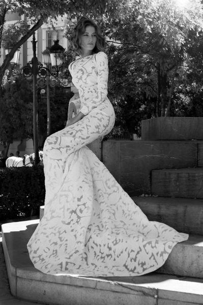vestido novia lyberty maria jose suarez - pilar olmo