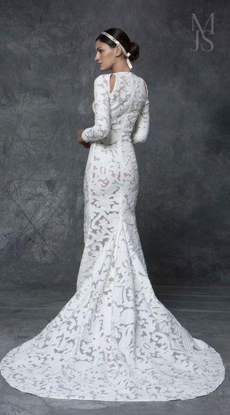 Vestido Novia Lyberty MARIA JOSE SUAREZ