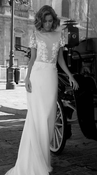 vestido de novia maria jose suarez - pilar olmo