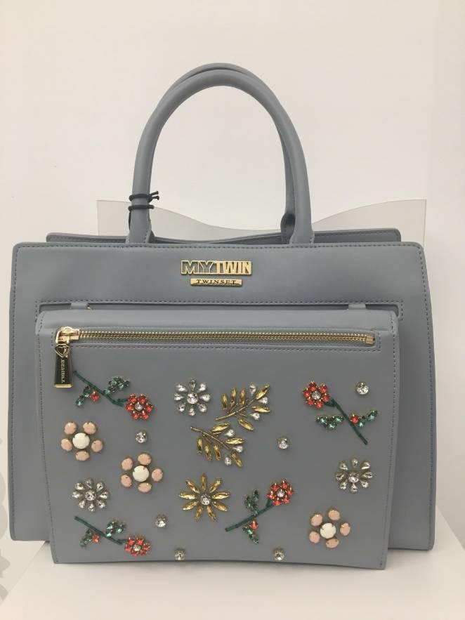 Bolso TWIN-set con bordado