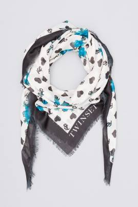 Foulard TWIN-SET estampado