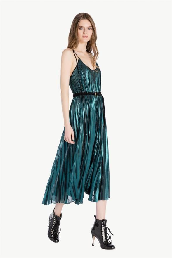 Vestido TWINSET largo plisado