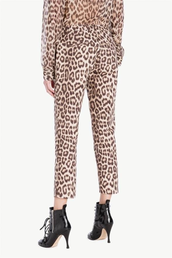 Pantalón TWINSET animal print