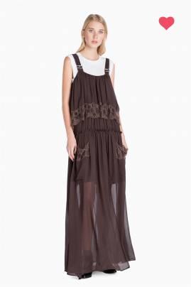 Vestido largo TWINSET