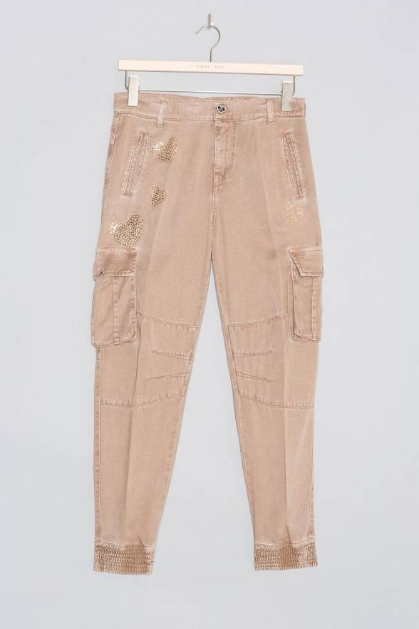 Pantalón TWINSET puño