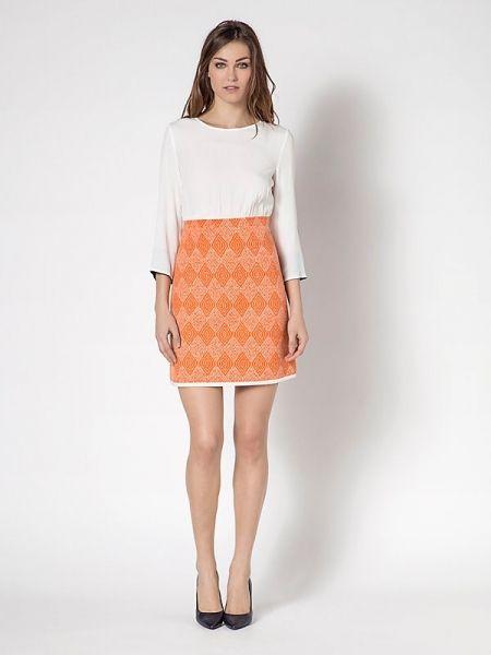 Vestido PATRIZIA PEPE corto naranja