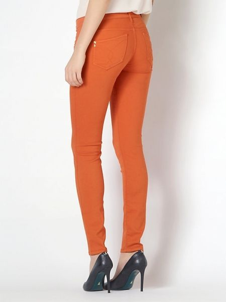 Pantalón PATRIZIA PEPE naranja